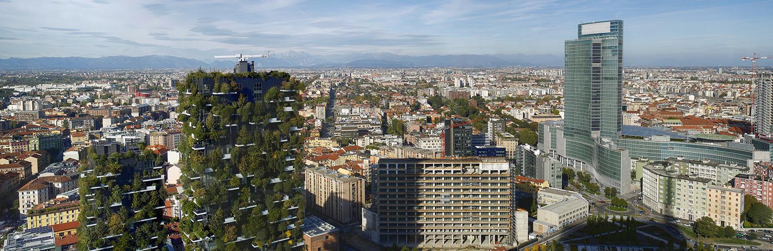 Milano vista aerea